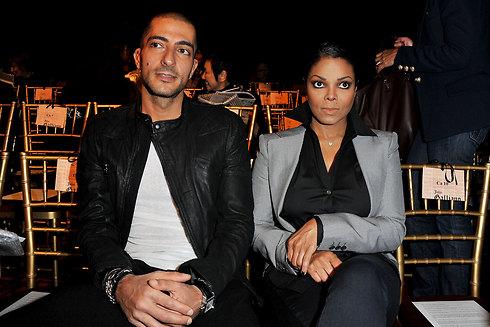ג'נט ג'קסון ובעלה, וויסאם אל מאנה. דרוש ילד (צילום: Gettyimages)