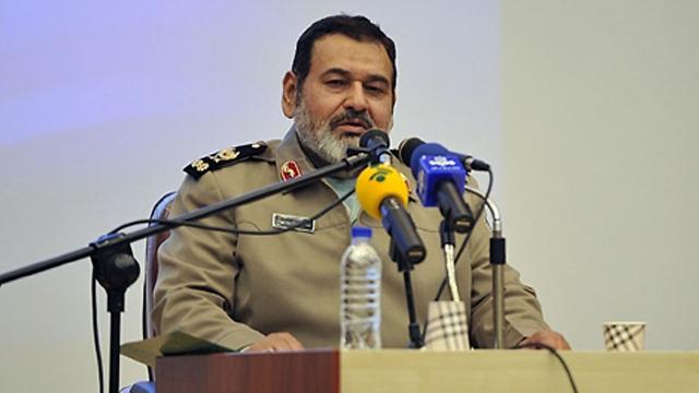 """נתניהו """"מחזק את האיום נגד הציונים"""". גנרל חסן פיירוז אבדי ()"""