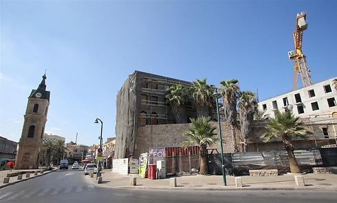 מתחם הקישלה ביפו. יהפוך למלון בוטיק (צילום: ירון ברנר) (צילום: ירון ברנר)