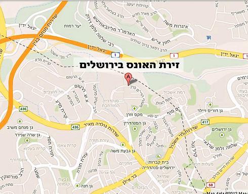 (מפה: Google Maps) (מפה: Google Maps)