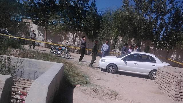 נורה מטווח קרוב. זירת הרצח, לפי התקשורת באיראן  ()