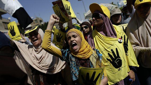 Cairo clashes (Photo: AP)