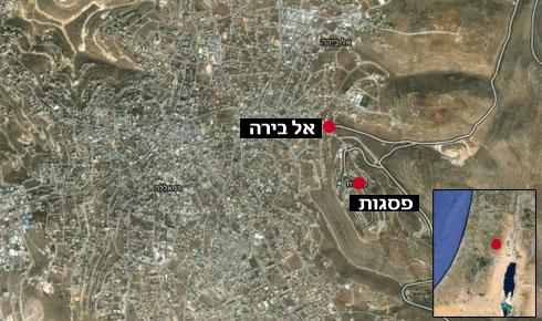 אזור האירוע (צילום: Google maps) (צילום: Google maps)