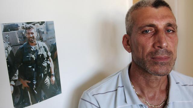 """ישראל מפקירה אותם? חייל צד""""ל לשעבר ויקטור נאדר (ארכיון) (צילום: אבישג שאר-ישוב)"""
