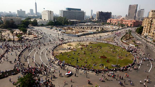 כיכר תחריר בקהיר (צילום: רויטרס) (צילום: רויטרס)