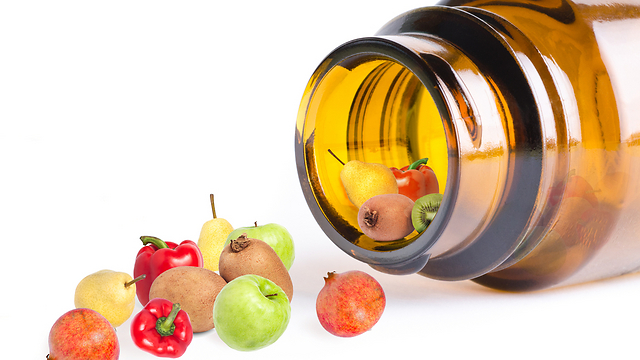 פיאות וירקות וגם ויטמינים מחליפים בהצלחה את מה שהבשר מספק לגוף (צילום: shutterstock)