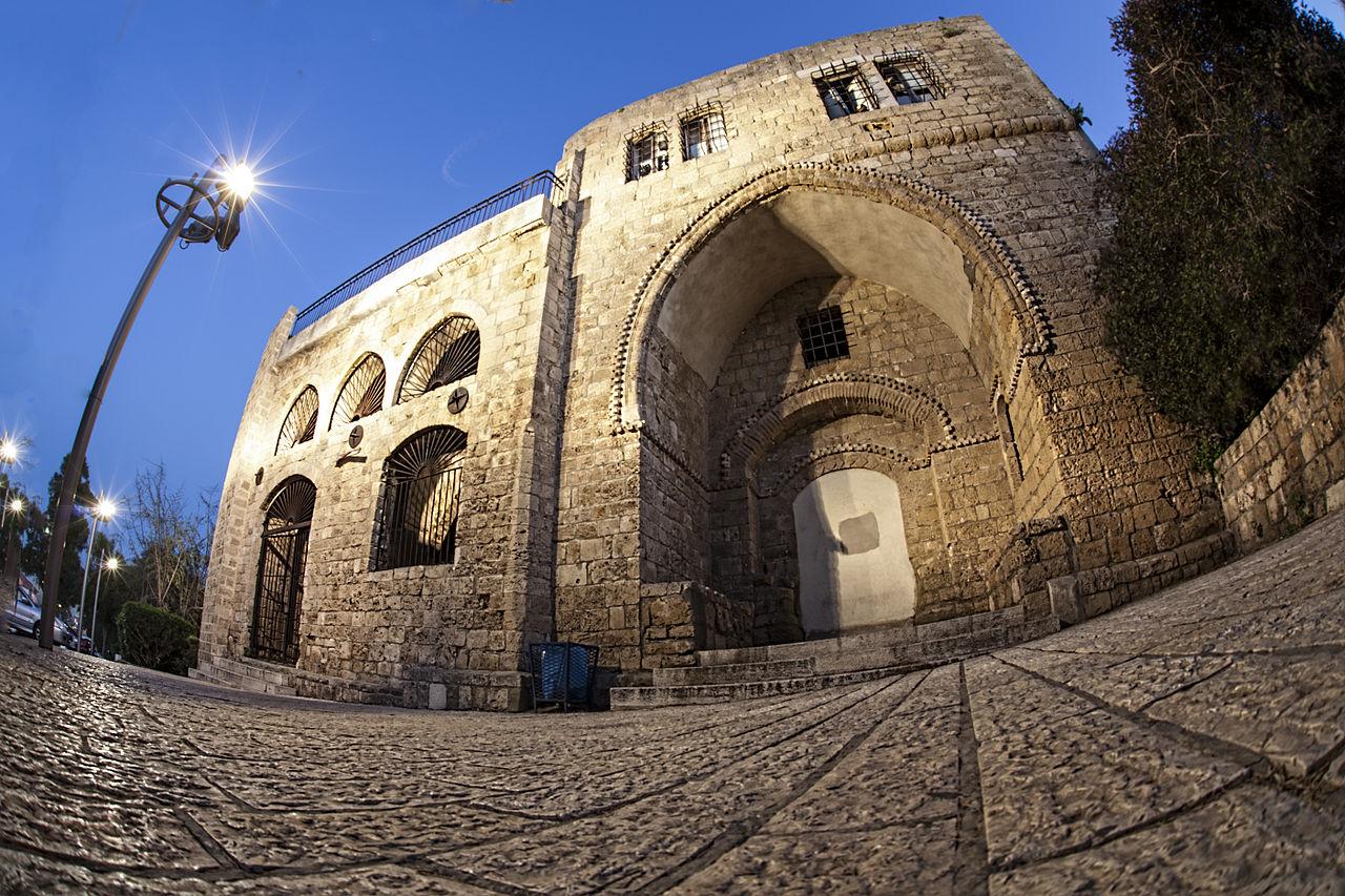 בית הסראייה הישן ביפו (צילום: Reuvenbr)