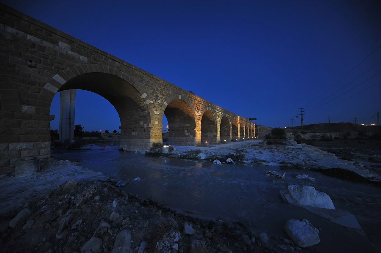 הגשר הטורקי בבאר שבע (צילום: ג'ורג' ארנון)
