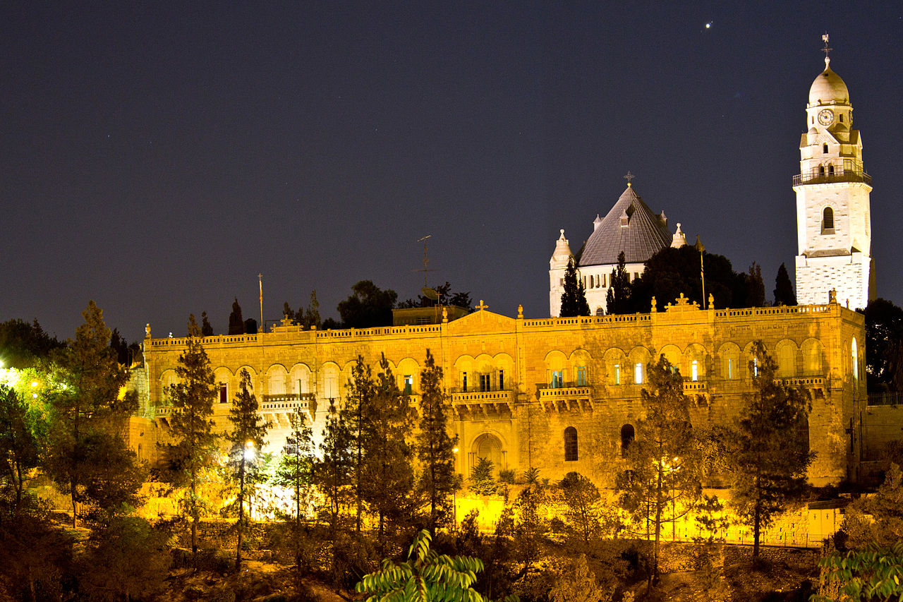 כנסיית הדורמיציון בירושלים (צילום: קורן לוי)