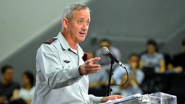"""המפכ""""ל מאשים את הצבא באחריות ל""""פיצוצים פליליים"""". הצבא שותק. בתמונה: הרמטכ""""ל גנץ (צילום: יוסי זליגר) (צילום: יוסי זליגר)"""
