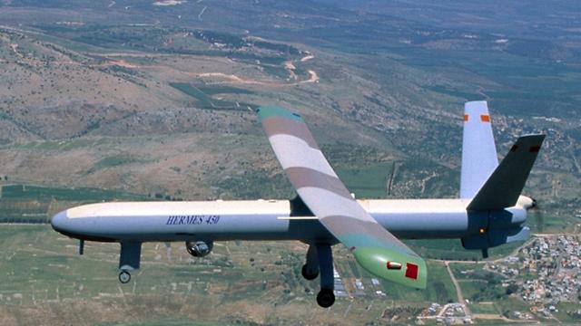 """הרמס 450. אחד המל""""טים הגדולים בחיל האוויר ()"""