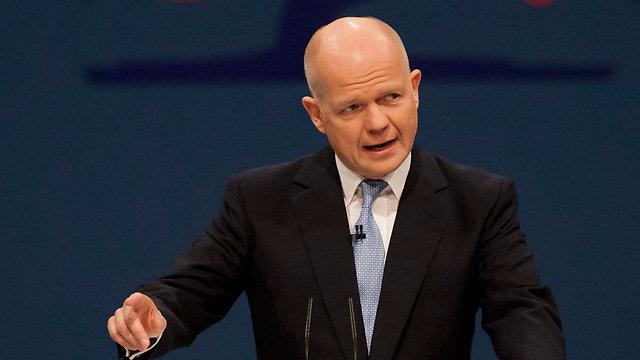 בן 52. שר החוץ הבריטי הייג (צילום: AP) (צילום: AP)