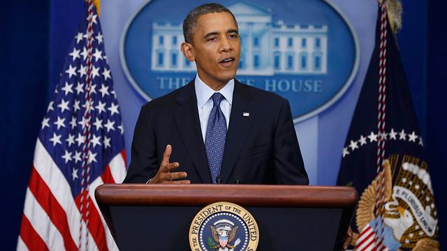 יכול להטיל וטו על ביקורות פתע מנימוקים של ביטחון לאומי. אובמה (צילום: רויטרס)
