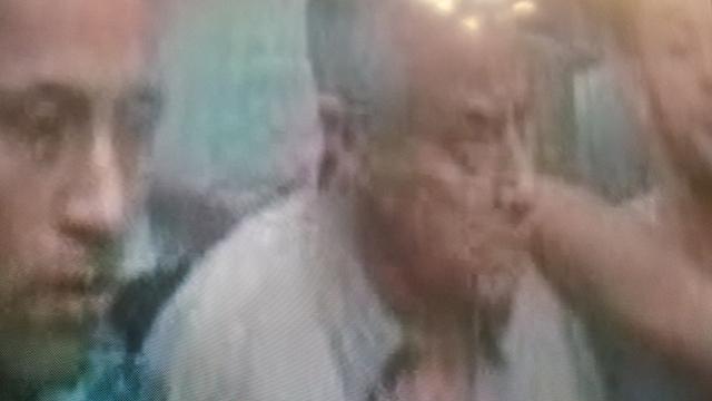 זיידאן לאחר חטיפתו (צילום: רויטרס) (צילום: רויטרס)