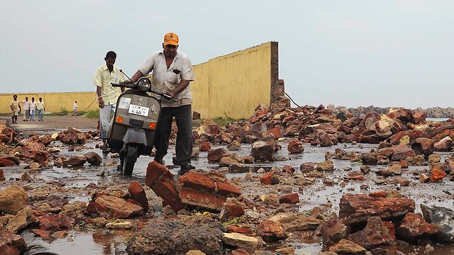 הרס אדיר (צילום: רויטרס) (צילום: רויטרס)