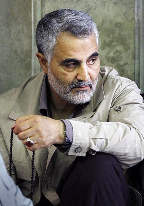 Quds Force commander Qasem Soleimani