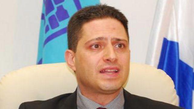 ראש העיר באר שבע רוביק דנילוביץ' (צילום: הרצל יוסף) (צילום: הרצל יוסף)