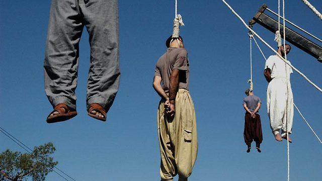 הוצאה להורג באיראן (צילום: AFP) (צילום: AFP)