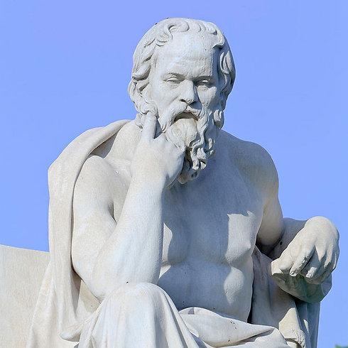 פסלו של סוקרטס (צילום: shutterstock)