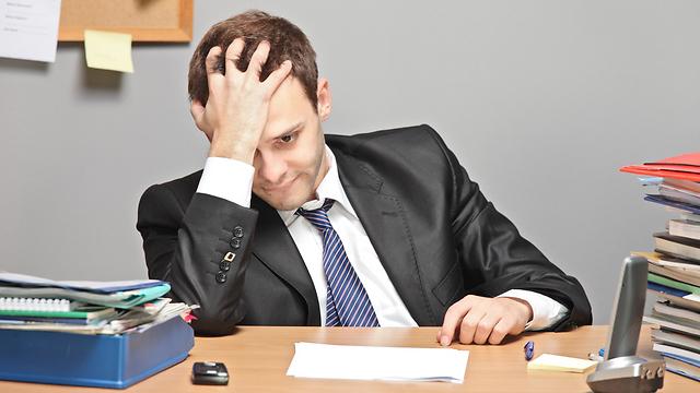 דכדוך קל מונע מאיתנו לתפקד בעבודה במלוא היכולת (צילום: Shutterstock) (צילום: Shutterstock)