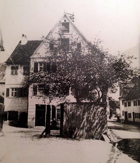 הבית כפי שהיה בשנות ה-20 ()