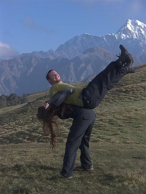 להתחבר לטבע (צילום: רעואל קסל ואנוש קסל) (צילום: רעואל קסל ואנוש קסל)