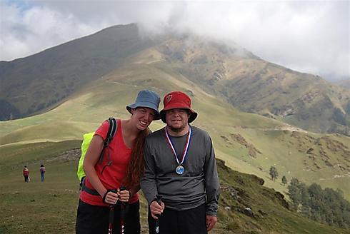 מאושרים בפסגה (צילום: רעואל קסל ואנוש קסל) (צילום: רעואל קסל ואנוש קסל)
