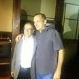 רן קוניק וישראל זינגר חוגגים אחרי הבחירות צילום: ליחי גרינשטיין