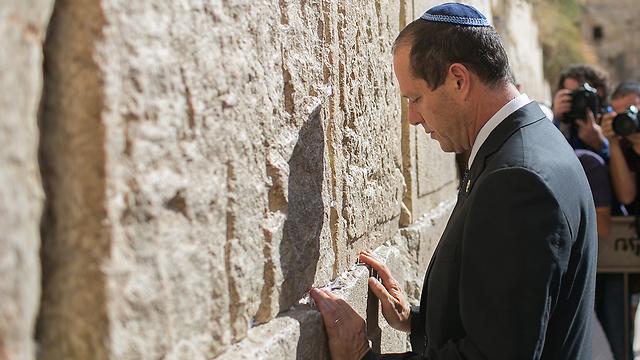 Jerusalem Mayor Barkat (Photo: Ohad Zwegenberg)