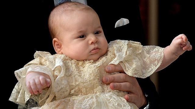 הנסיך ג'ורג' (צילום: AP) (צילום: AP)