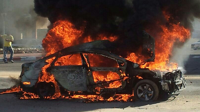 Last week's explosion in Ashkelon (Photo: Eliram Moshe)