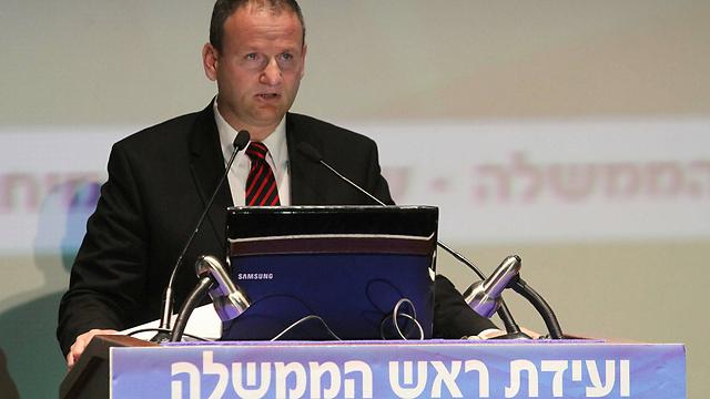 """המנכ""""ל היוצא, הראל לוקר. ביקש לסיים את תפקידו בתום שלוש שנים (צילום: עידו ארז) (צילום: עידו ארז)"""