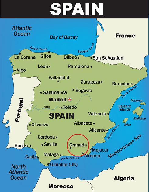 לכאן היא רצתה להגיע. גְּרָנָדָה בספרד (צילום: shutterstock) (צילום: shutterstock)