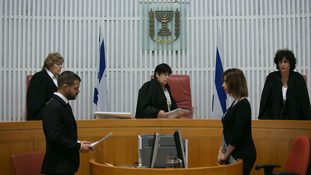 Hearing at High Court (Photo: Ohad Zwigenberg)