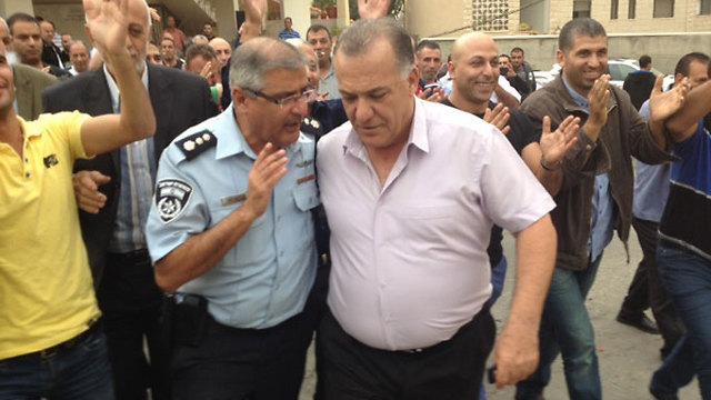 Nazareth residents celebrate court ruling (Photo: Alarab)