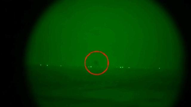 """כך נראה פיצוץ המנהרה (צילום: דובר צה""""ל) (צילום: דובר צה"""