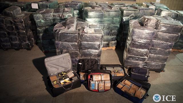 סמים בשווי 8 מיליון דולר (צילום: רויטרס) (צילום: רויטרס)