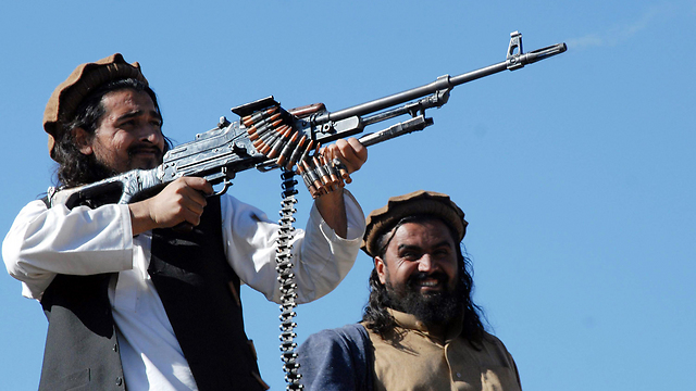 Mehsud in action (Photo: AFP)