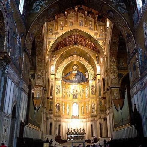 הקתדרלה המרשימה של מונריאלה (צילום: אשת טורס) (צילום: אשת טורס)