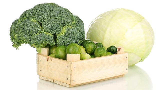 מנטרלים את הרדיקלים החופשיים. ירקות מצליבים (צילום: shutterstock) (צילום: shutterstock)