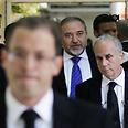 צילום: AFP זיכוי ב משפט אביגדור ליברמן פרשת מינוי השגריר בית משפט השלום ירושלים
