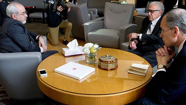 Iranian Foreign Minister Zarif (Photo: AFP, VIOLAINE MARTIN)