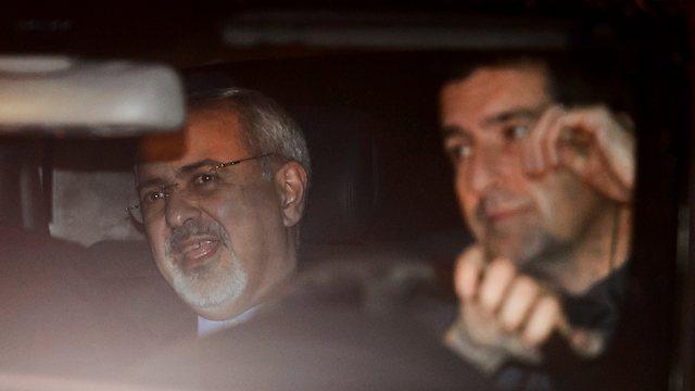 Iranian FM Javad Zarif in Geneva