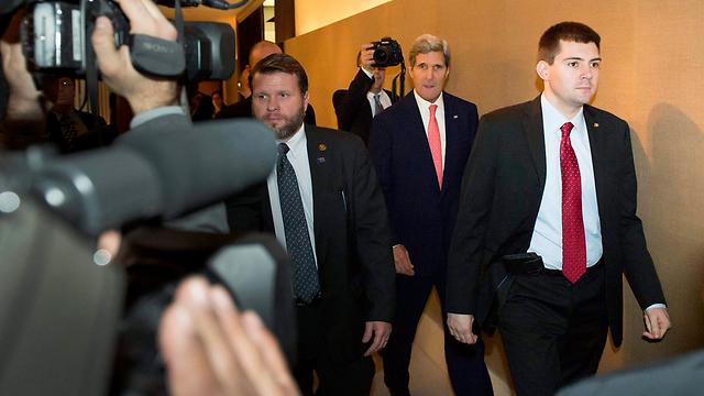Kerry in Geneva (Photo: Reuters)
