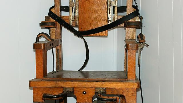 """כיסא חשמלי בארה""""ב (צילום: shutterstock) (צילום: shutterstock)"""