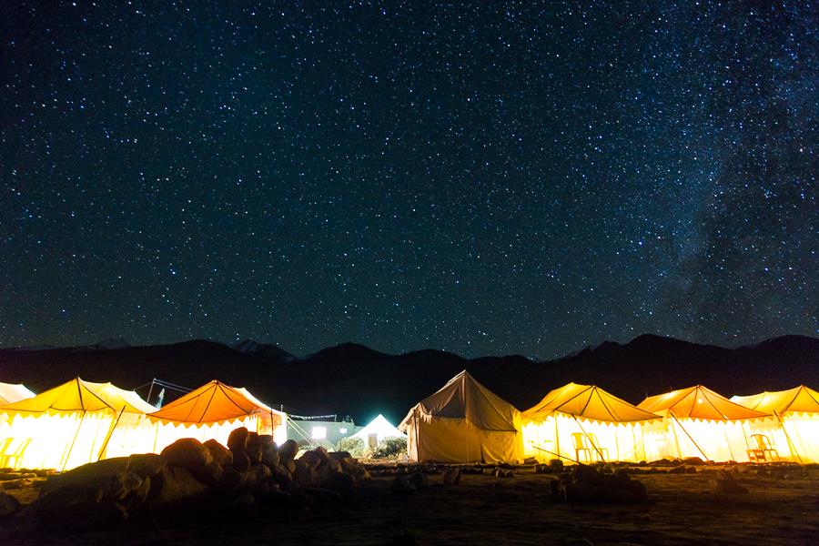 השמיים מלאים בכוכבים בראות מרשימה (צילום: אופיר אייב) (צילום: אופיר אייב)