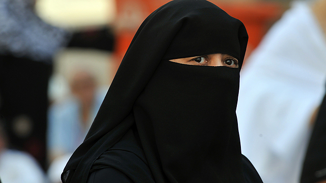 Muslim woman wearing a burqa (Photo: AFP)