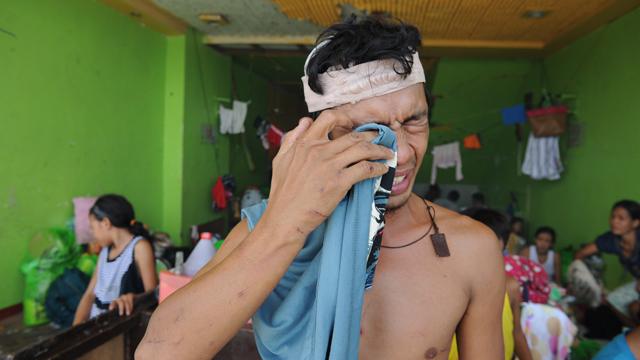 מראות קשים (צילום: AFP)