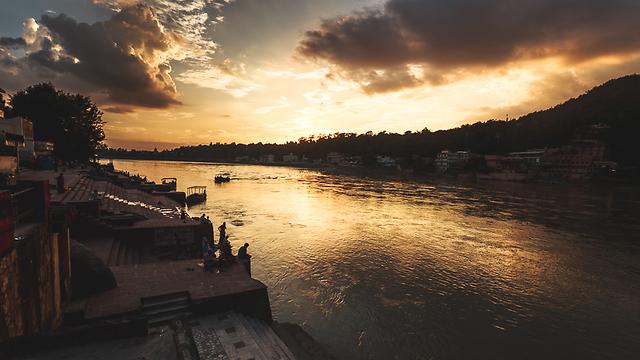 גן עדן עבור צלמים. הודו בשקיעה (צילום: אופיר אייב) (צילום: אופיר אייב)