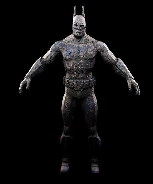 הדגם של באטמן מעולם לא יועד למדפסת, וככה זה גם נראה (צילום: שחר שושן) (צילום: שחר שושן)
